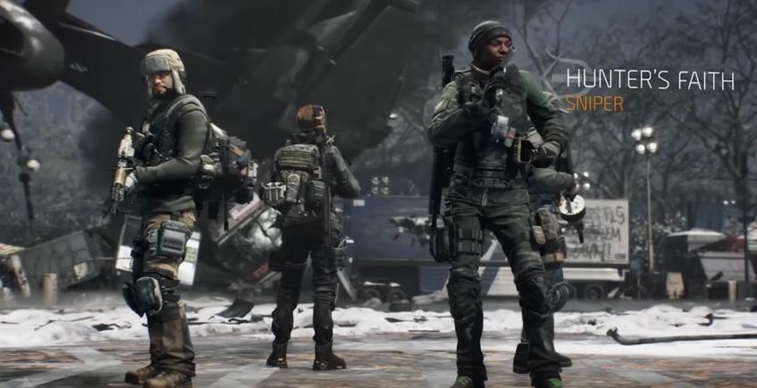 The Division:  Die neuen Gear Sets des Mai-Updates 1.2.