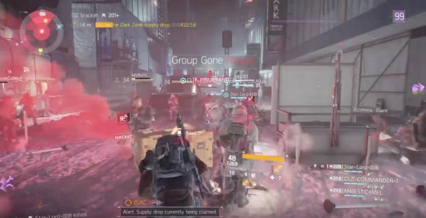 """The Division: """"Supply Drop Chaos"""" – Wenn alle auf dem Server nur ein Ziel haben"""