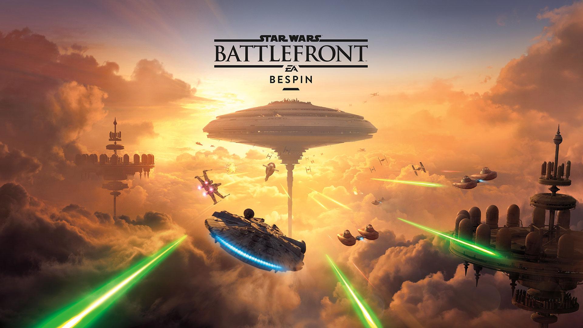 """Star Wars: Battlefront – Trailer und Release-Datum zum DLC """"Bespin"""" – Das Imperium auf dem Vormarsch"""