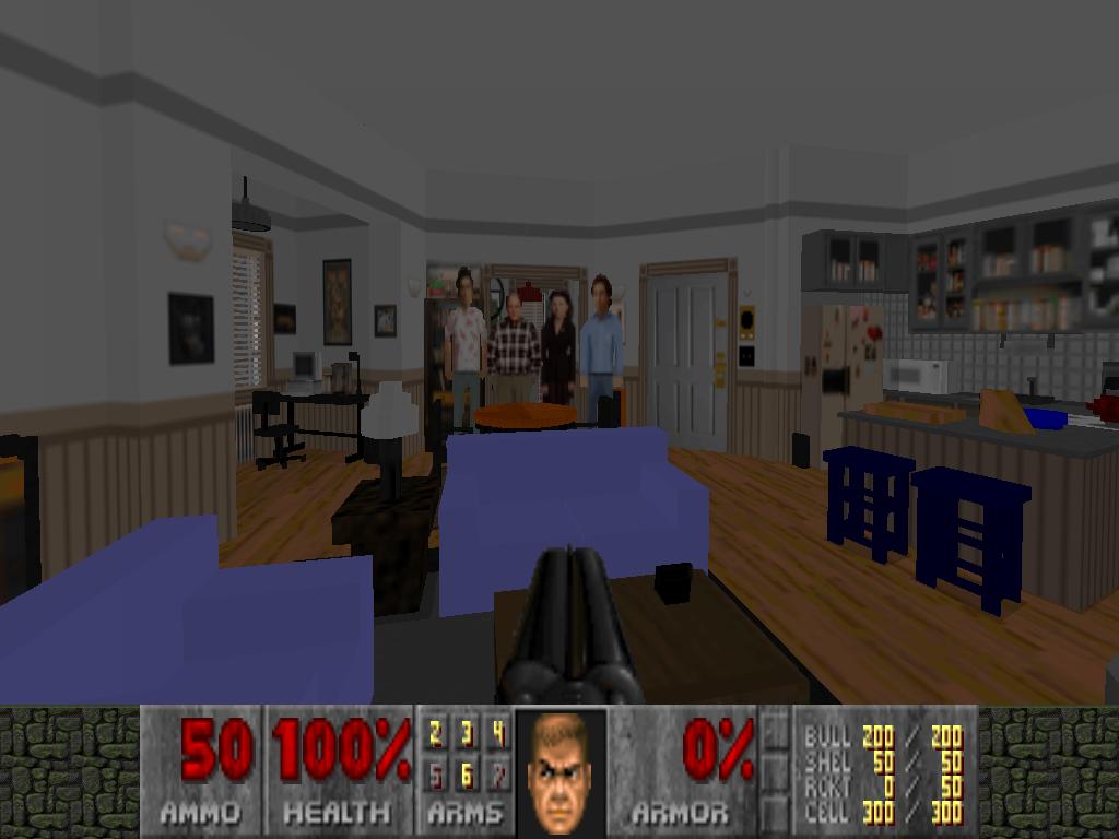 Doom: Modder baut in 100 Stunden Jerrys Apartment aus Seinfeld nach