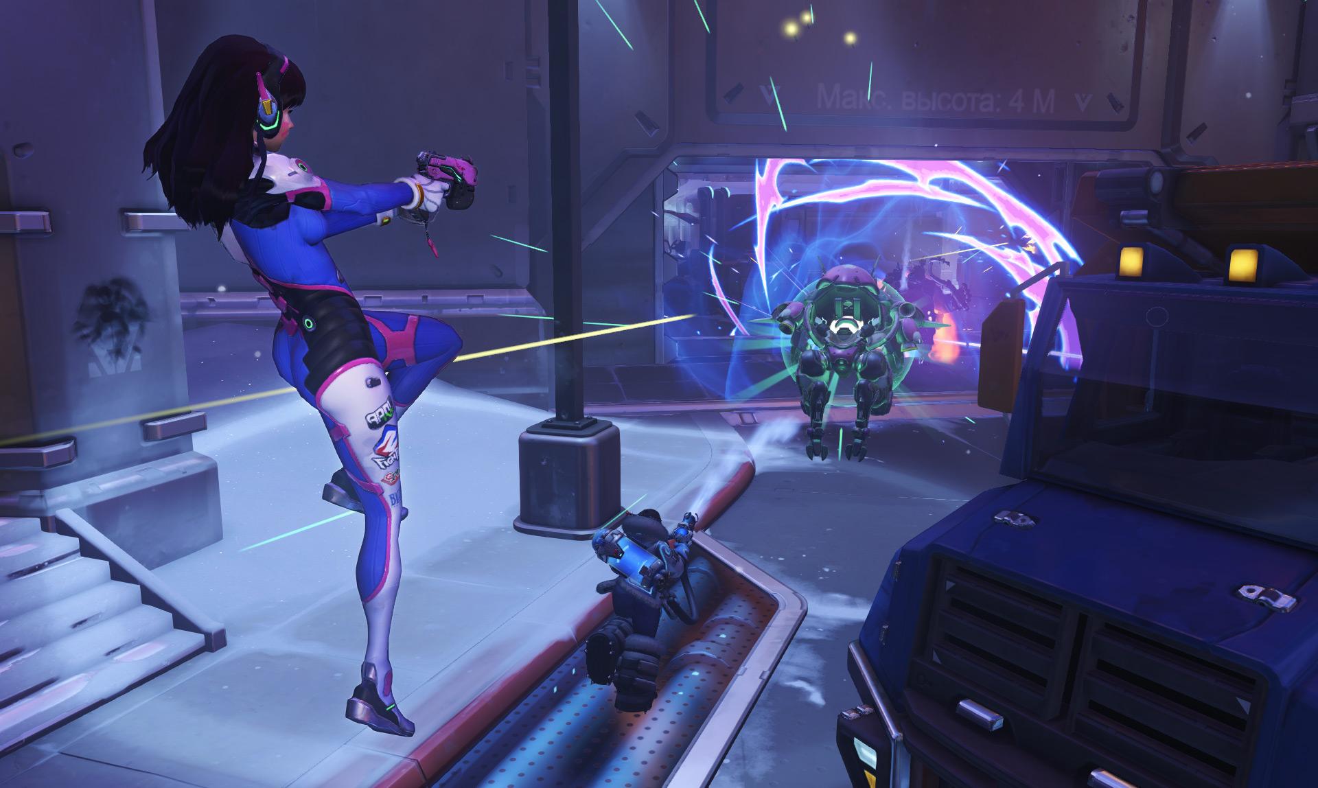 Overwatch: Glitch lässt D.Va in neue Galaxien vordringen