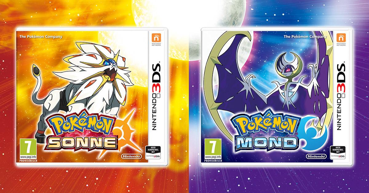 Pokemon Sonne und Mond: Alle Infos zur neuen Generation