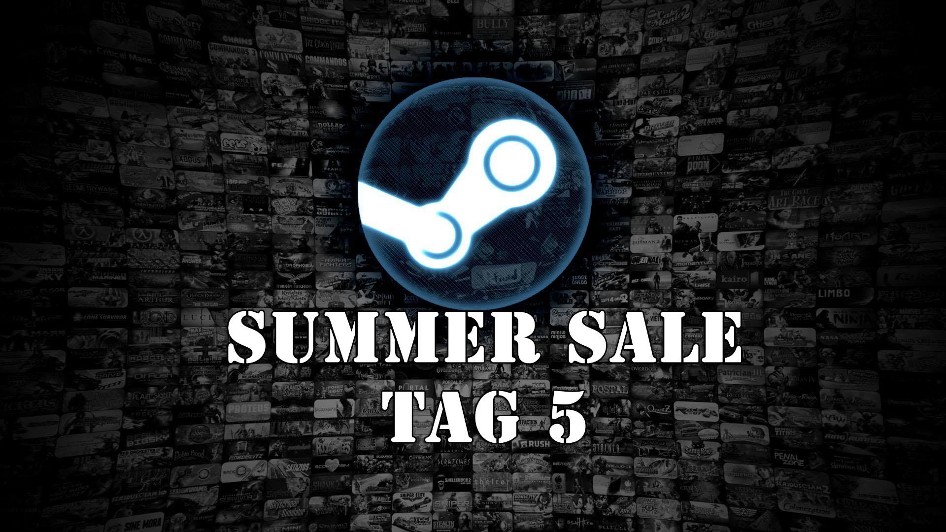 Steam Summer Sale: Unsere 5 Favoriten der Daily-Highlights vom 27.06