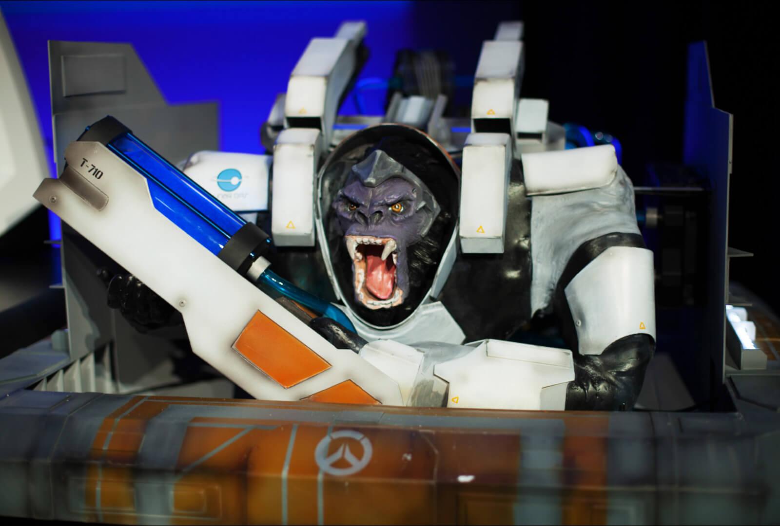 Overwatch: Winston als PC-Gehäuse