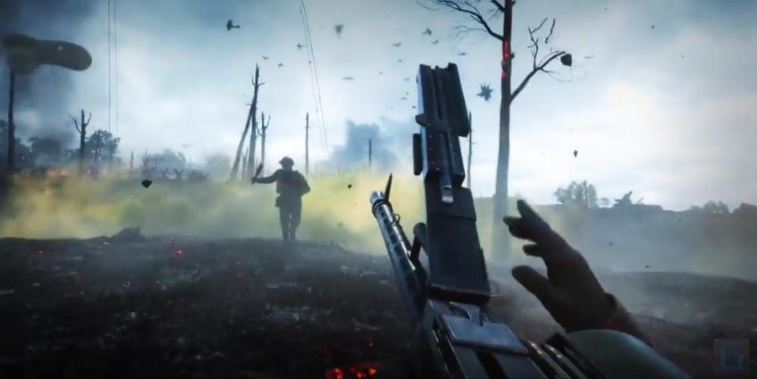 Battlefield 1: Teaser-Trailer stimmt auf brutale Nahkampf-Gefechte ein