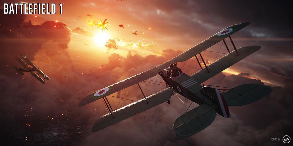 Battlefield 1: Details zu Flugzeugen und Panzern – setzt man auf ein realistisches Schadensmodell?