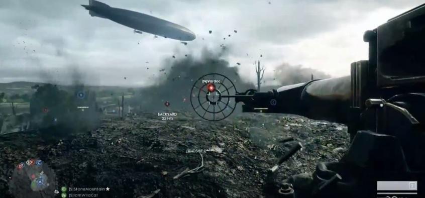 Battlefield 1: Multiplayer-Schlacht zeigt Gameplay, Maps , Panzer und Flugzeuge