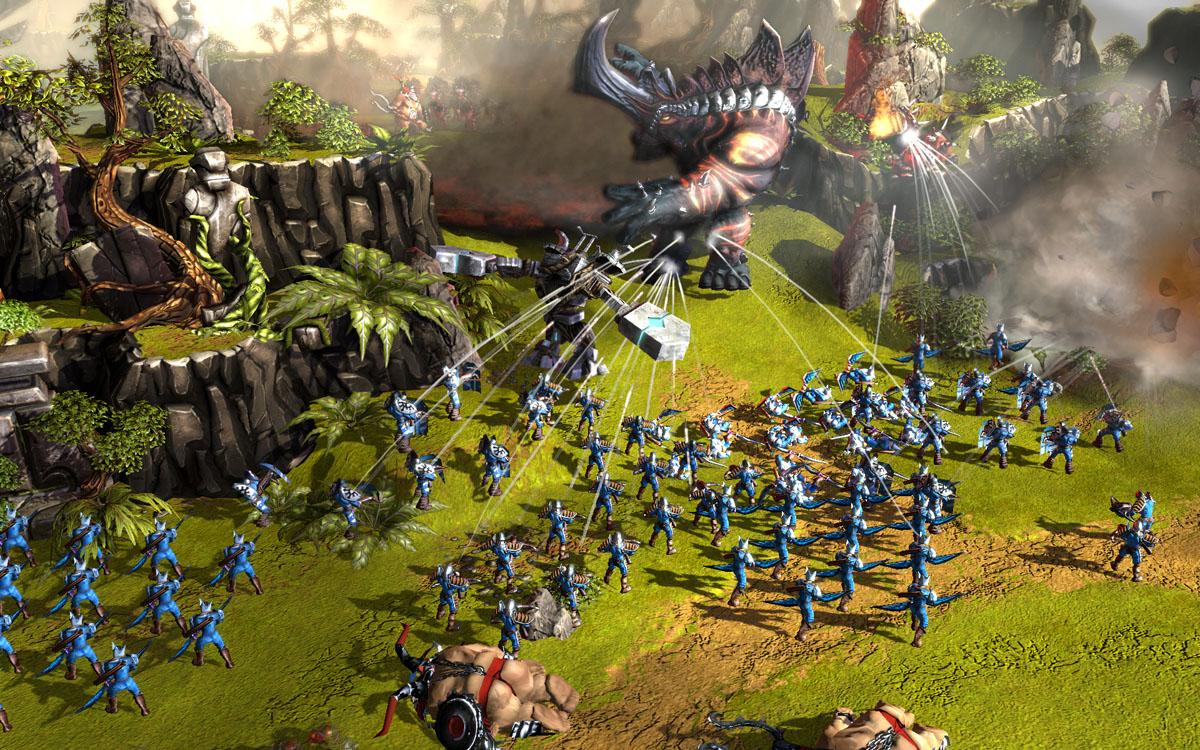 Sammelkarten-Strategiespiel Battleforge kehrt zurück