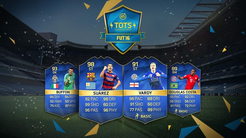 """FIFA 16: EAs Team der Saison bringt die """"Besten der Besten"""""""