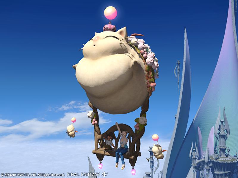 Final Fantasy XIV: Fettes Mount zum fetten Preis – der Moppel-Mogry