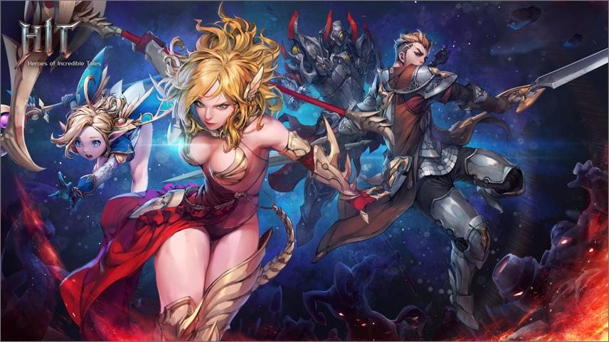 HIT: Mobile RPG mit Unreal Engine 4 ist gestartet