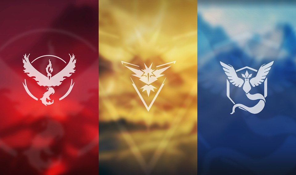 Pokemon GO Teams Banner