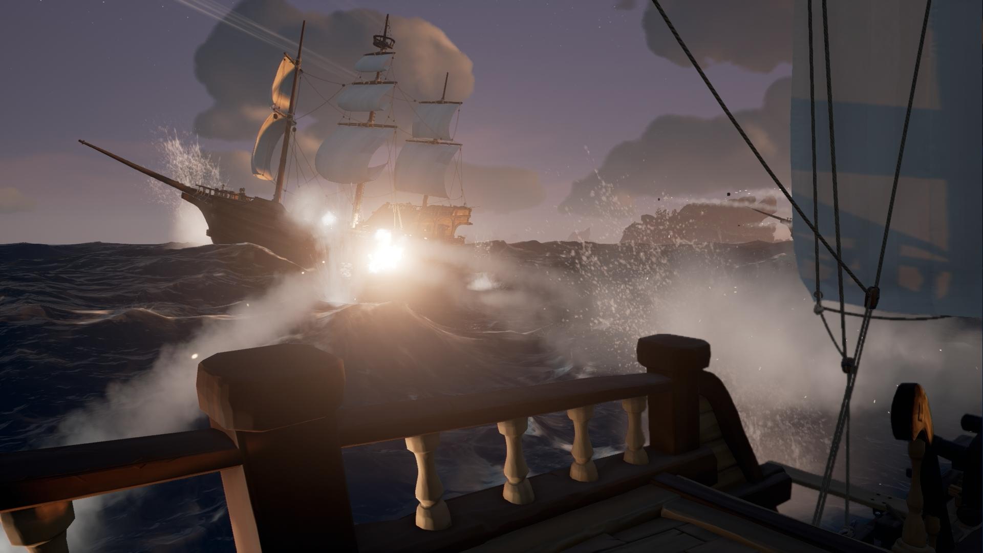 Sea of Thieves: Gameplay-Video mit Zauber-Grafik – PC-Alpha unterwegs