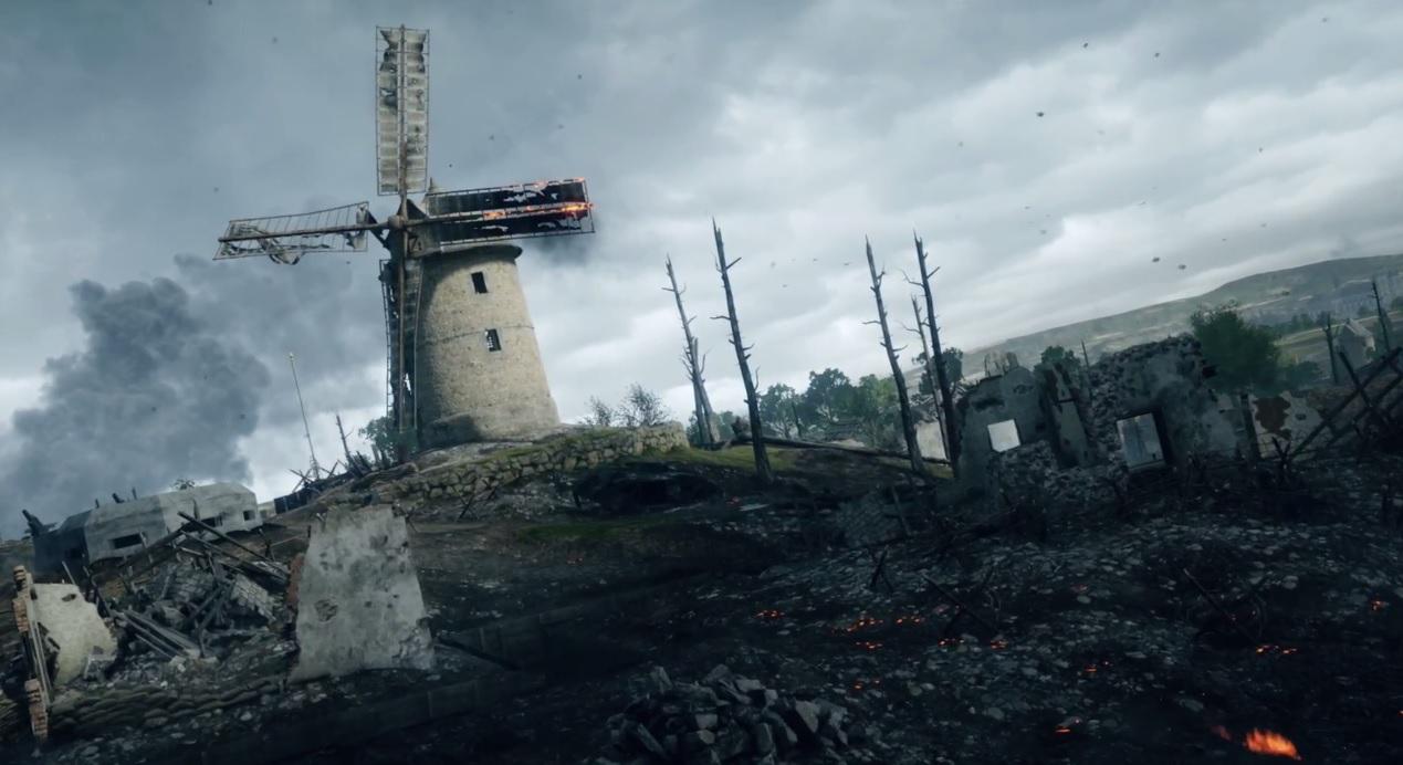 Battlefield 1 in 1440p sieht überwältigend aus
