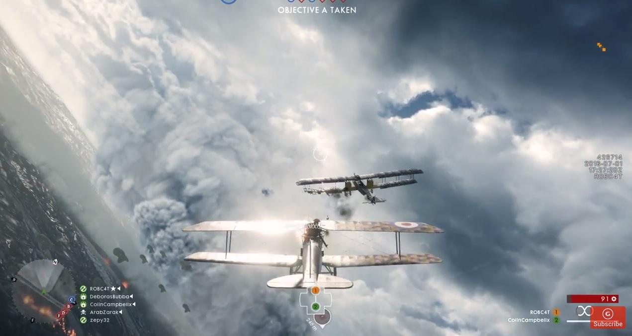 Battlefield 1: NDA aufgehoben – Imposante Luftkämpfe im Gameplay-Video