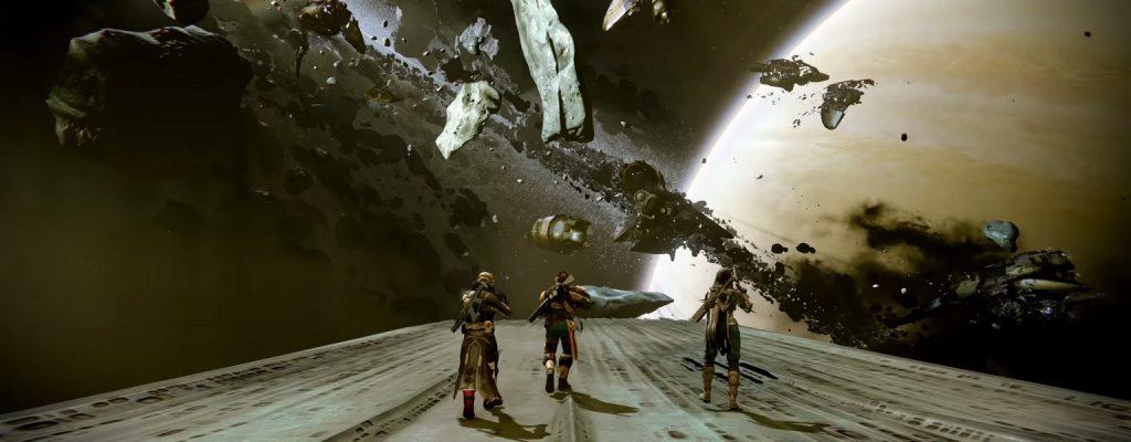 Hüter fliegen in Destiny 2 plötzlich das Grabschiff aus Destiny 1 an