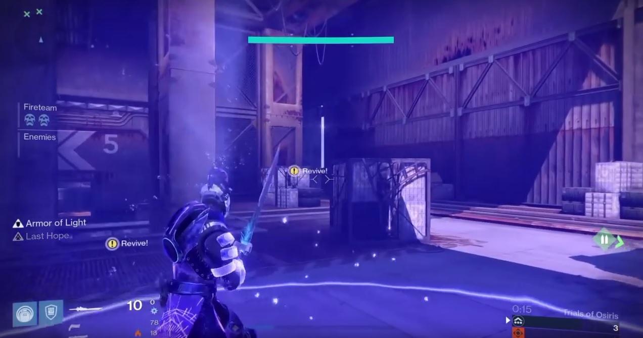 Destiny: Hüter gewinnt im 1 vs. 3, ohne einen Schuss abzugeben