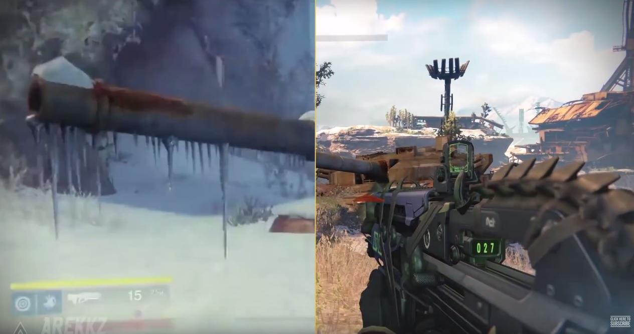Destiny: Neu vs. Alt – So verändert sich das Kosmodrom, im Vergleichs-Video