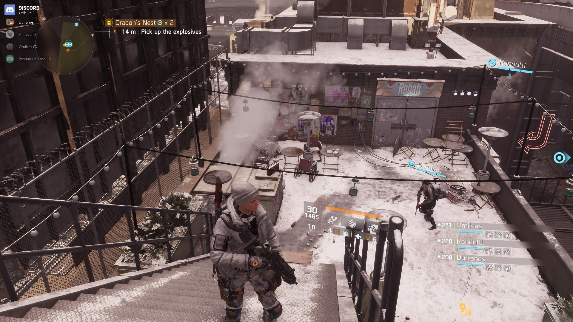 """The Division: """"Drachenhort"""" vor und nach dem Update 1.3 – Wo kommt denn das Graffiti her?"""