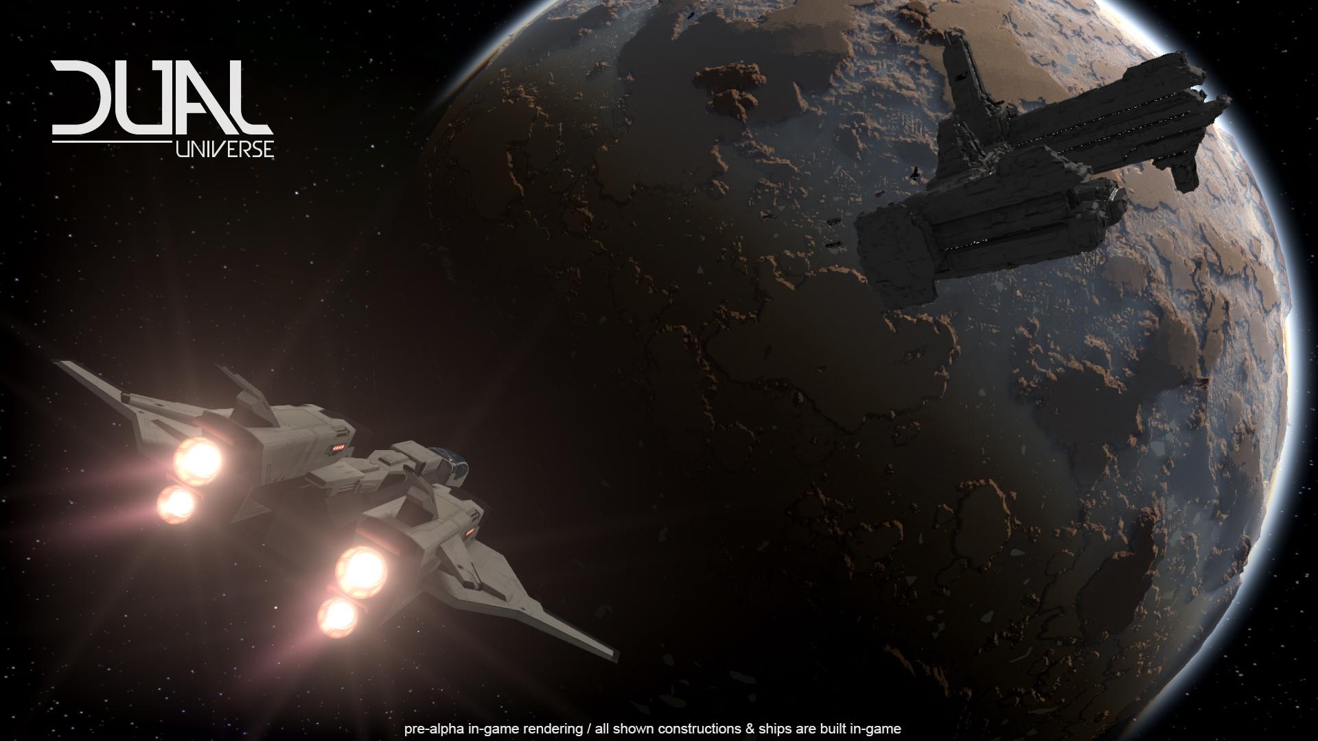 Dual Universe will Minecraft mit Star Citizen mixen