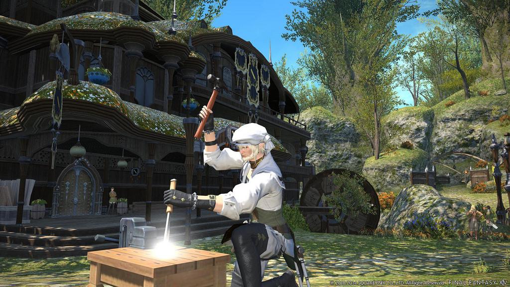 Diese 5 MMORPGs haben das beste Crafting – Ihr habt gewählt
