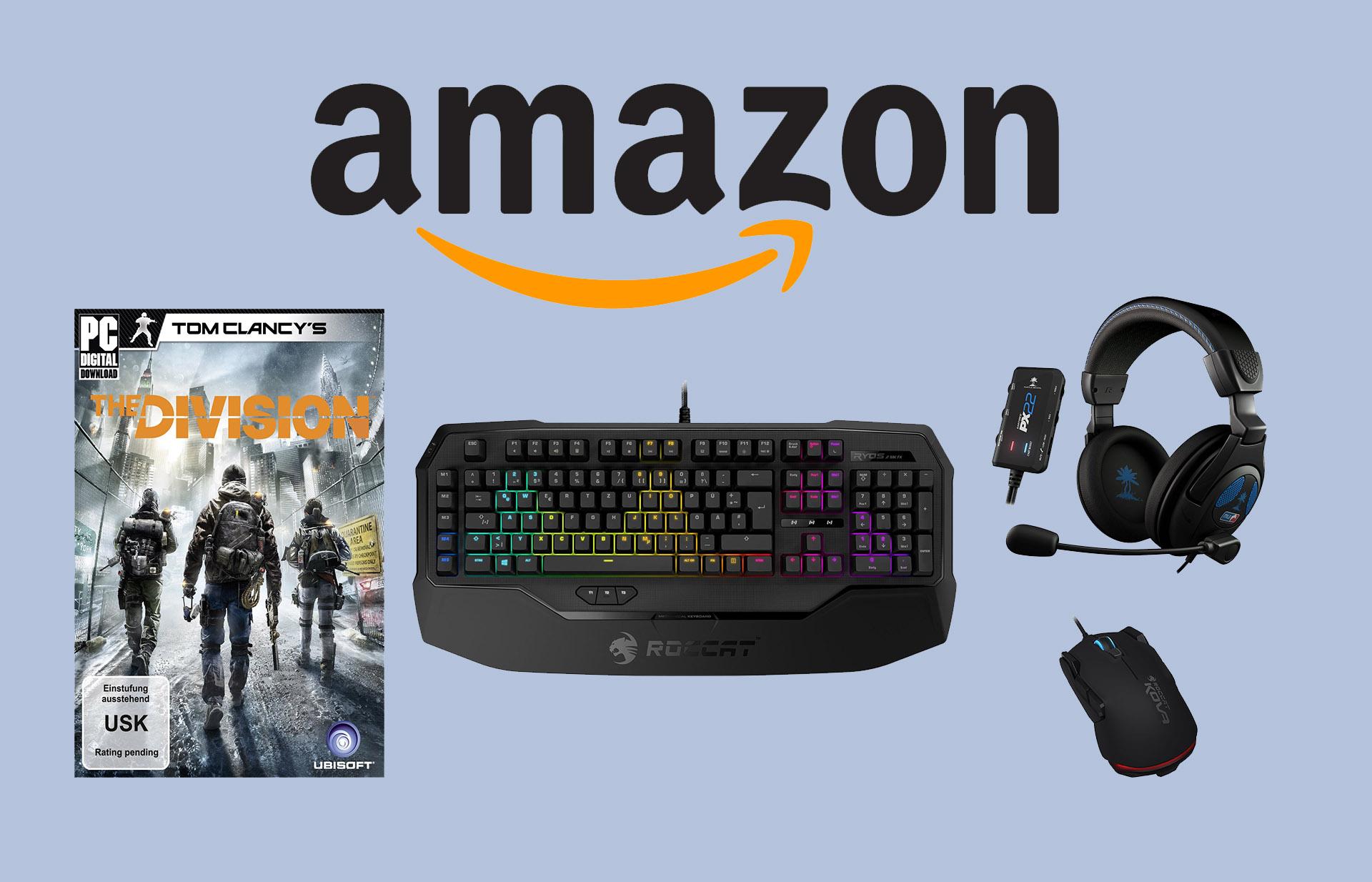 Amazon Schnäppchen am 09.08 für Gamer: The Division, Gaming-Hardware und mehr!