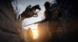 Battlefield 1 Pferd Reiter Graben Schütze