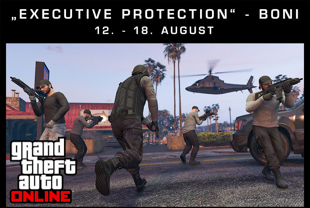 "GTA 5 Online: Starke Rabatte und doppelte GTA$ in der ""Executive Protection""-Woche"