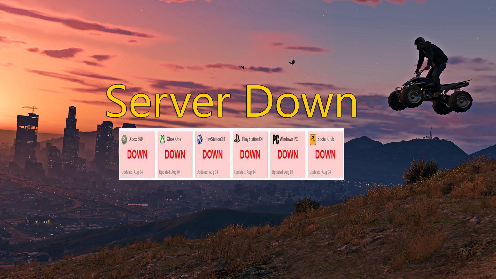 GTA 5 Online: Server down am 4.8. – Störung hindert Spieler am Verbinden