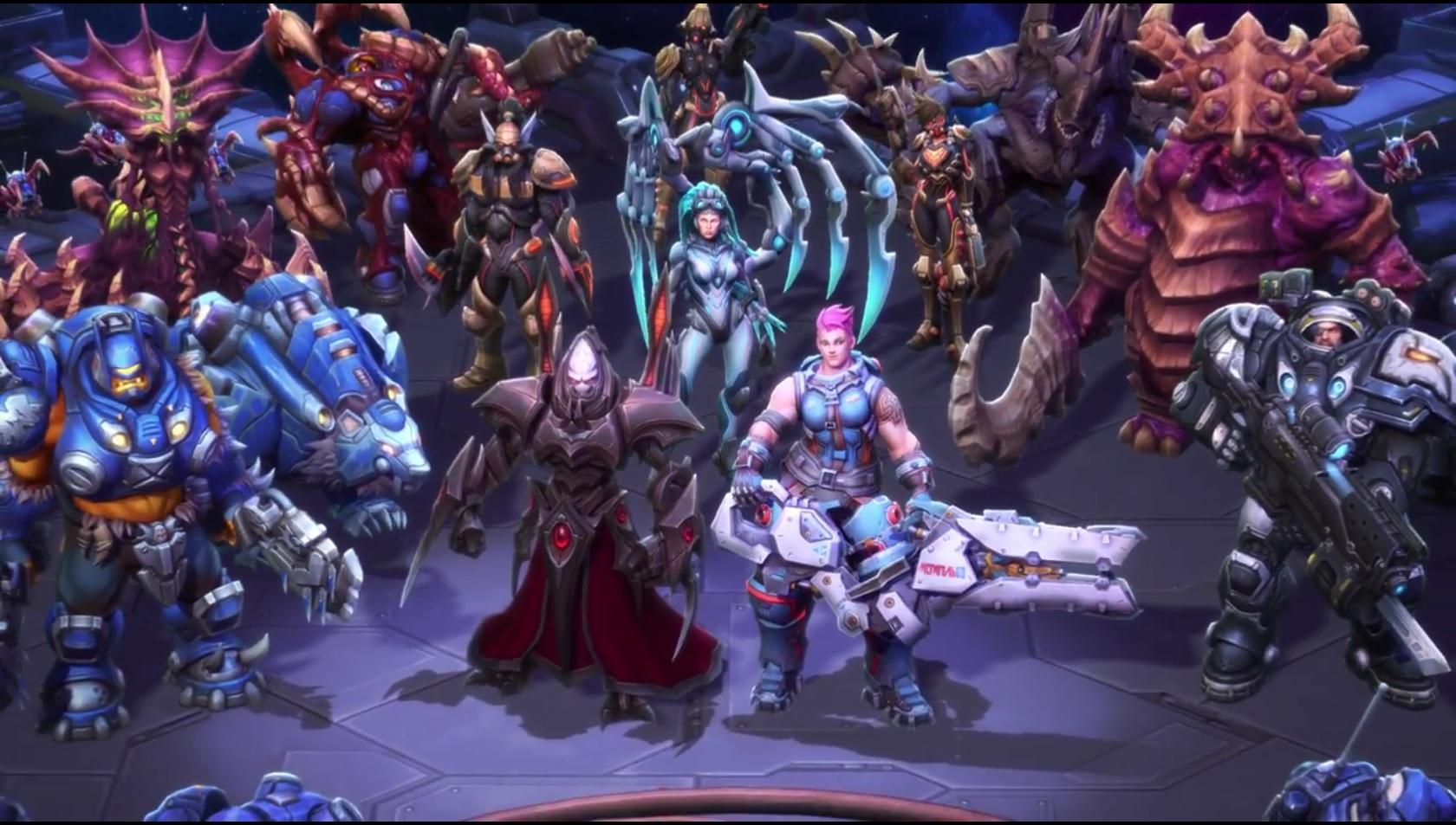 Heroes of the Storm: 2 neue Helden – Zarya (Overwatch) und Alarak (StarCraft 2)