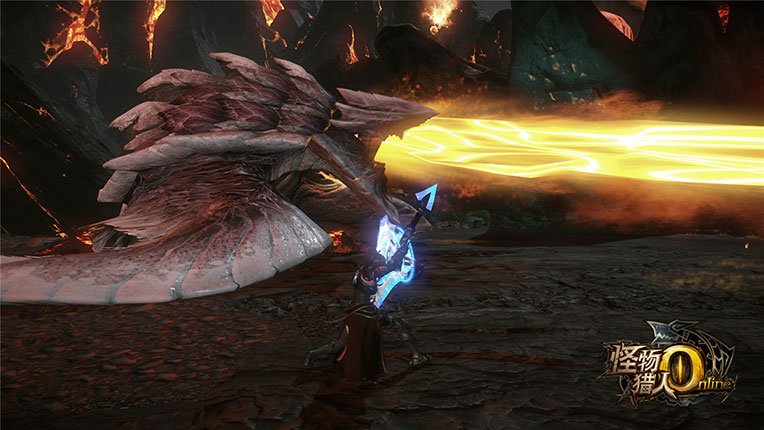 Monster Hunter Online bekommt seinen ersten Raidboss