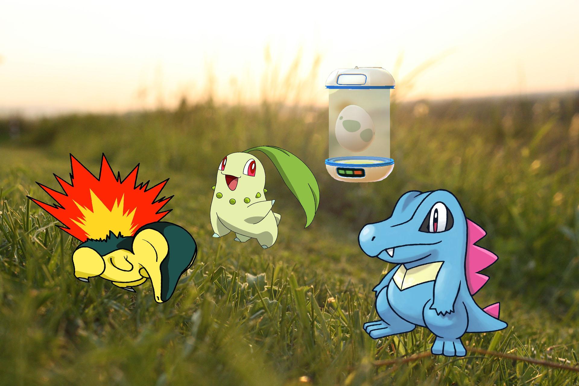 Pokémon GO: Trailer zeigt Starter-Pokémon der 2. Gen aus 2KM-Eiern