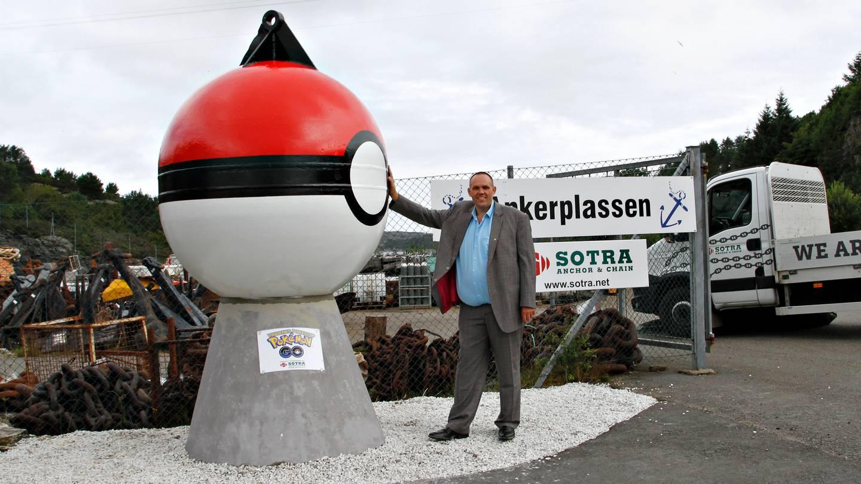 Pokémon GO: Norweger bauen riesige Statue – für einen PokéStop