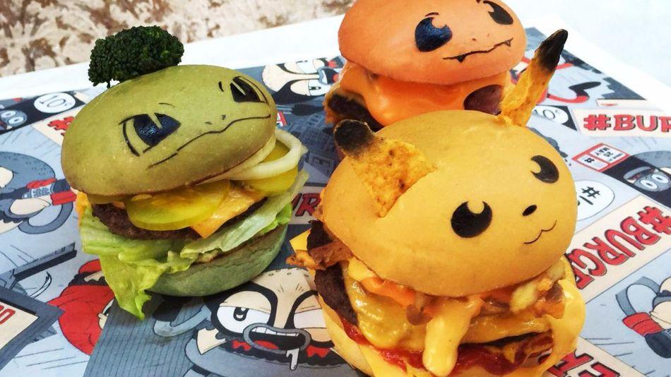 Pokémon GO: Niedliche Pokémon-Burger – Würdet  Ihr sie essen?