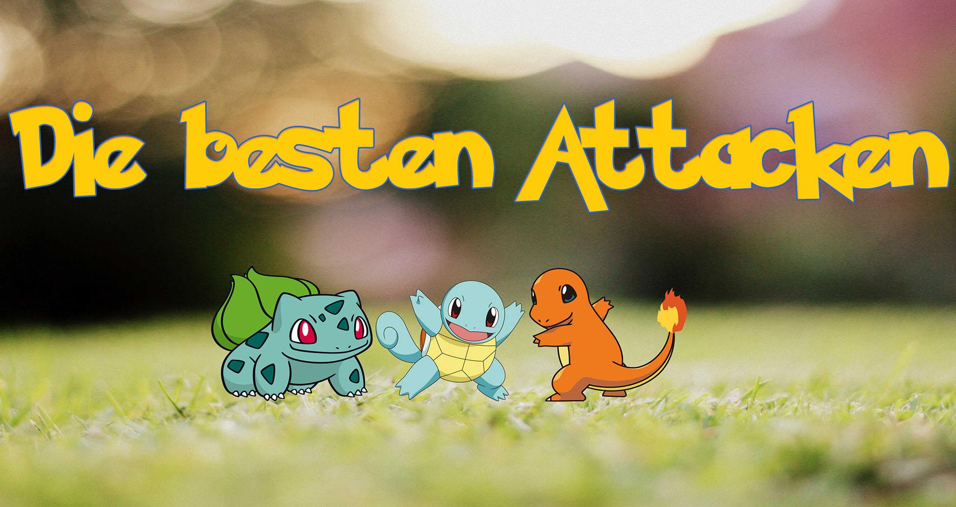 Pokémon GO: Die besten Attacken nach DPS-Wert