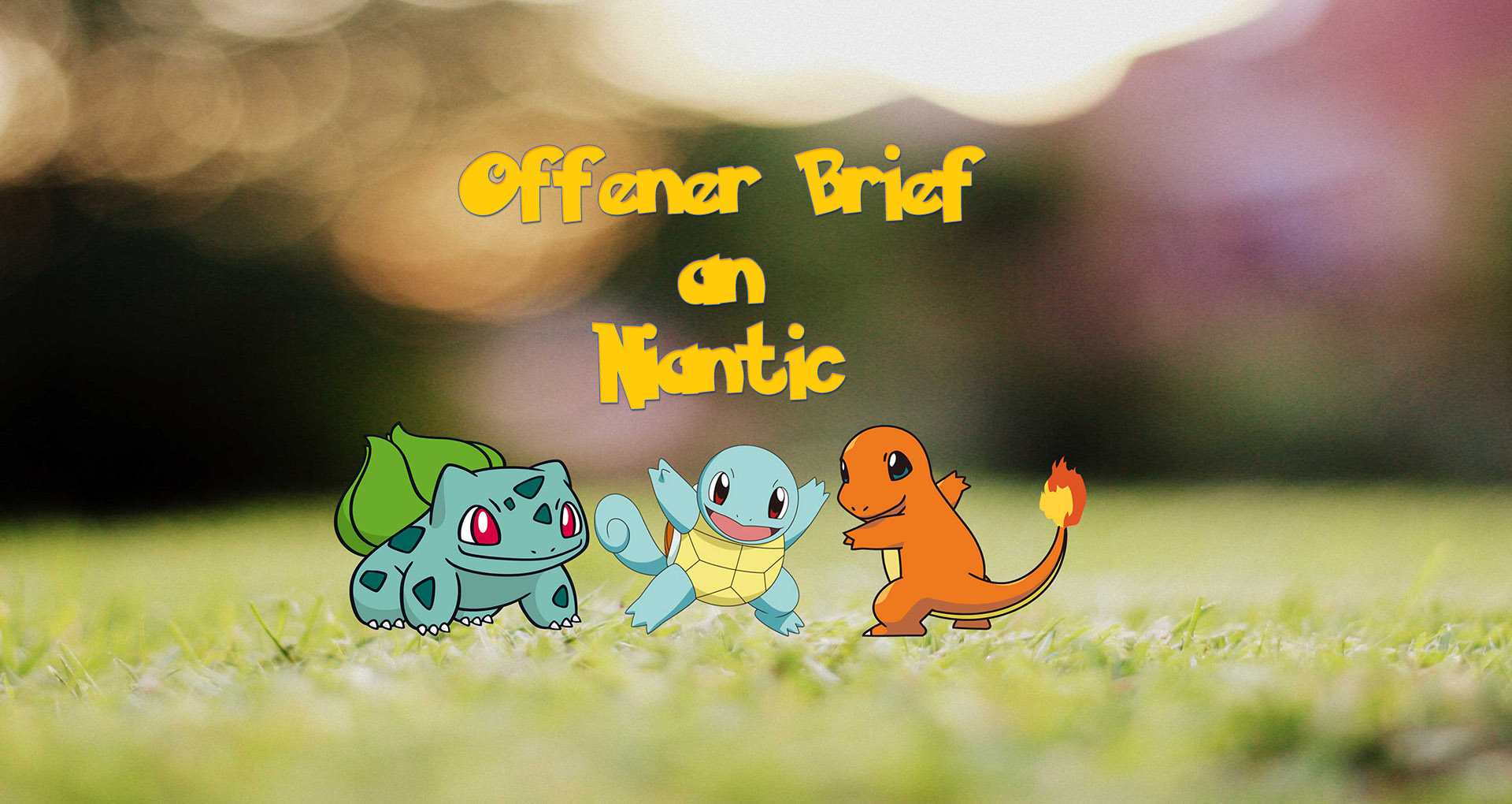 Pokémon GO: PokéVision sendet Niantic einen offenen Brief – mit viel Emotion