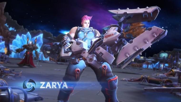 Heroes of the Storm: Gamescom – Neue StarCraft-Karte und Zarya angespielt