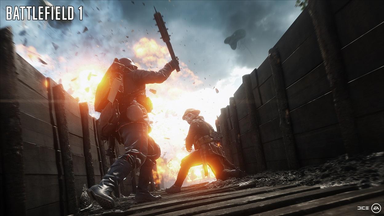 Volle Dröhnung Battlefield 1: Über eine Stunde Gameplay in 1080p/60fps