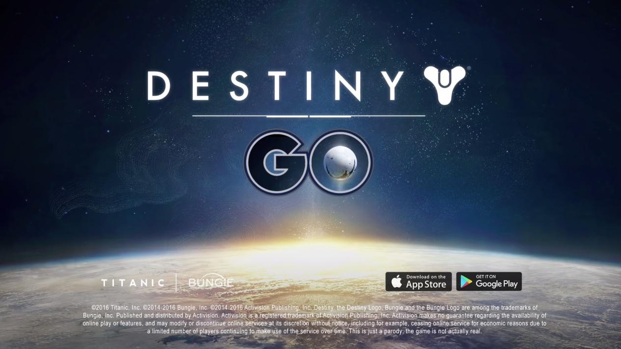 Destiny GO: Patrouilliert die echte Welt! – Fan-made Video