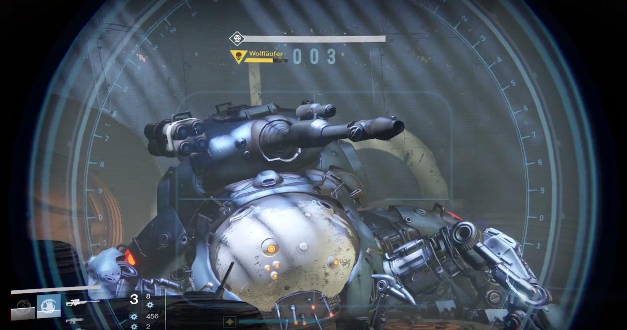 Destiny: Dafür leben Titanen – Wolfläufer mit einem Schlag besiegt, im Dämmerungsstrike