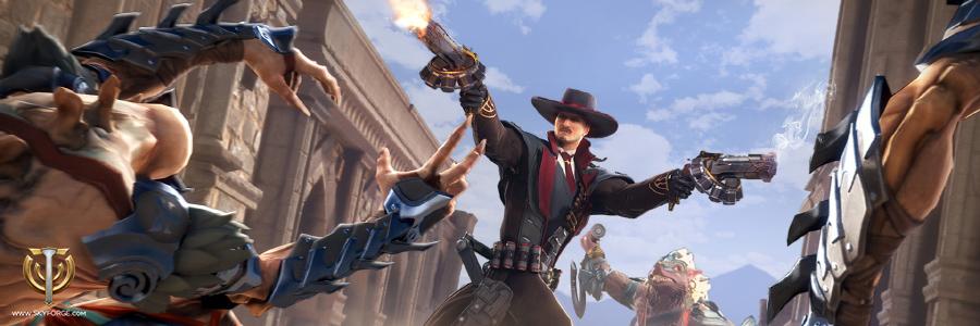 """Skyforge – Mit der """"Outlaw Collector's Edition"""" gleich als Revolverheld starten"""