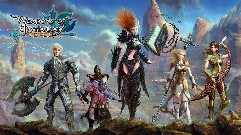 Weapons of Mythology – New Age: Free-to-Play-MMORPG erscheint für PC, PS4 und Xbox One