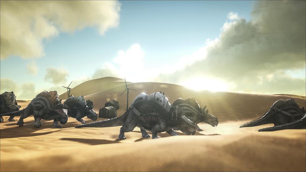 Ark: Survival Evolved – Scorched-Earth-Addon auf Steam verfügbar