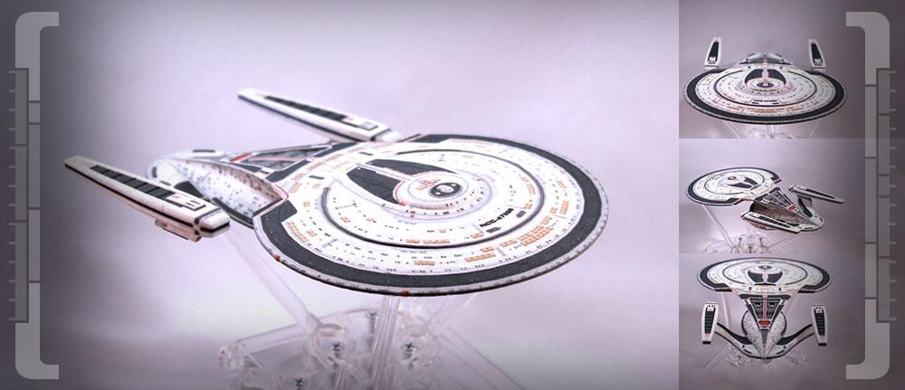 Star Trek Online – Raumschiffe in echt! Kooperation mit 3D-Druck-Firma macht's möglich
