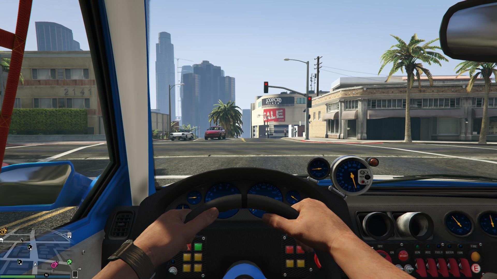 GTA 5: Fahrerlose Autos lernen in GTA 5 das Fahren