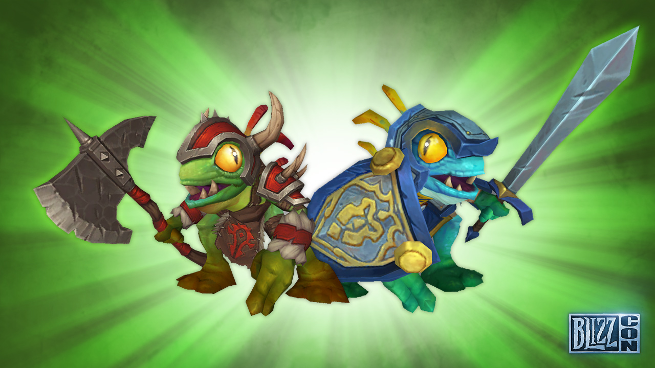 Die InGame-Goodies der BlizzCon 2016 – Murlocs und Monster
