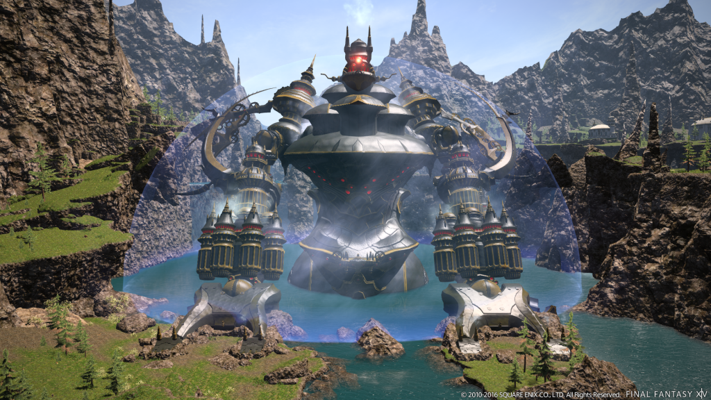 Final Fantasy 14: Alexander und Sophia werden gigantisch! Es kommt doch auf die Größe an