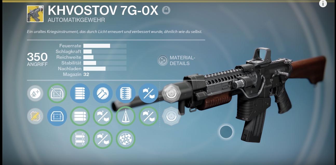 Destiny Guide: Khvostov 7G-0X – So bekommt Ihr das exotische Automatikgewehr