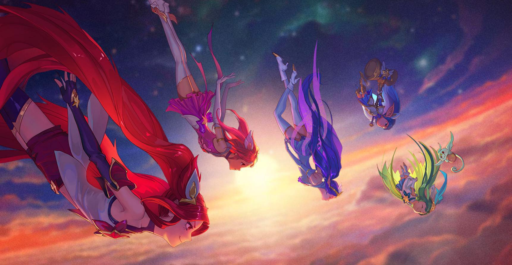 League of Legends: 4 neue Sternenwächterinnen-Skins für Janna, Jinx, Lulu und Poppy enthüllt