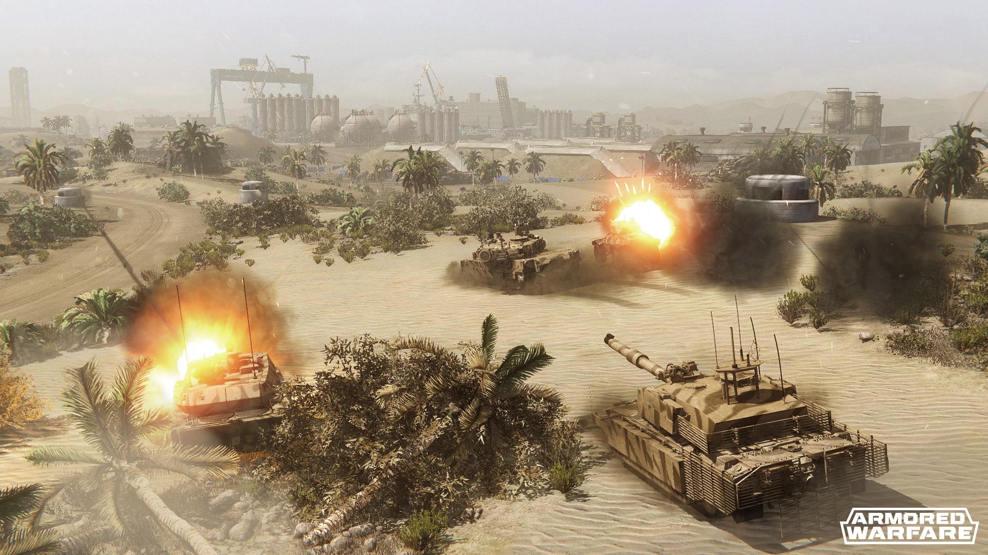 """Armored Warfare: Wir gegen alle! """"Global Operations"""" verbindet PvP und PvE zu einem gigantischen Actionfeuerwerk"""